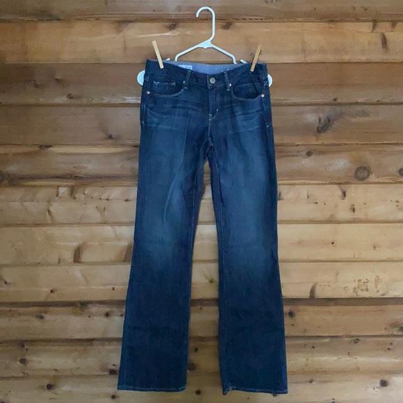 Gap 1969 Sexy Boot Medium Tint Jeans